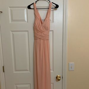 Bridesmaid's dress from David's Bridal